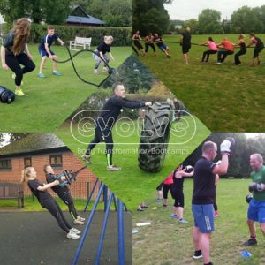 Evolve body transformation bootcamps