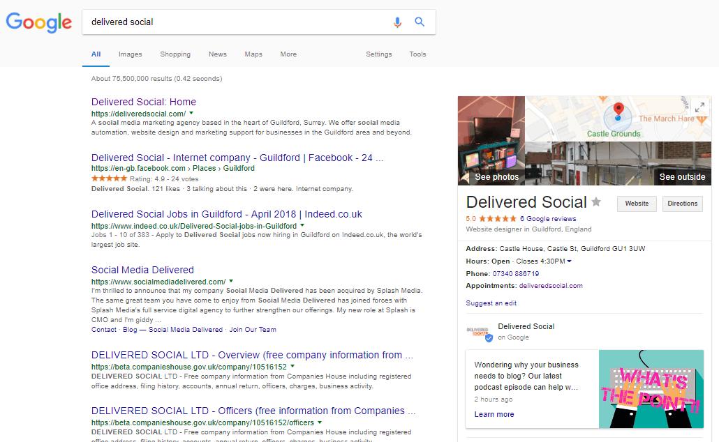 screenshot 81 delivered social