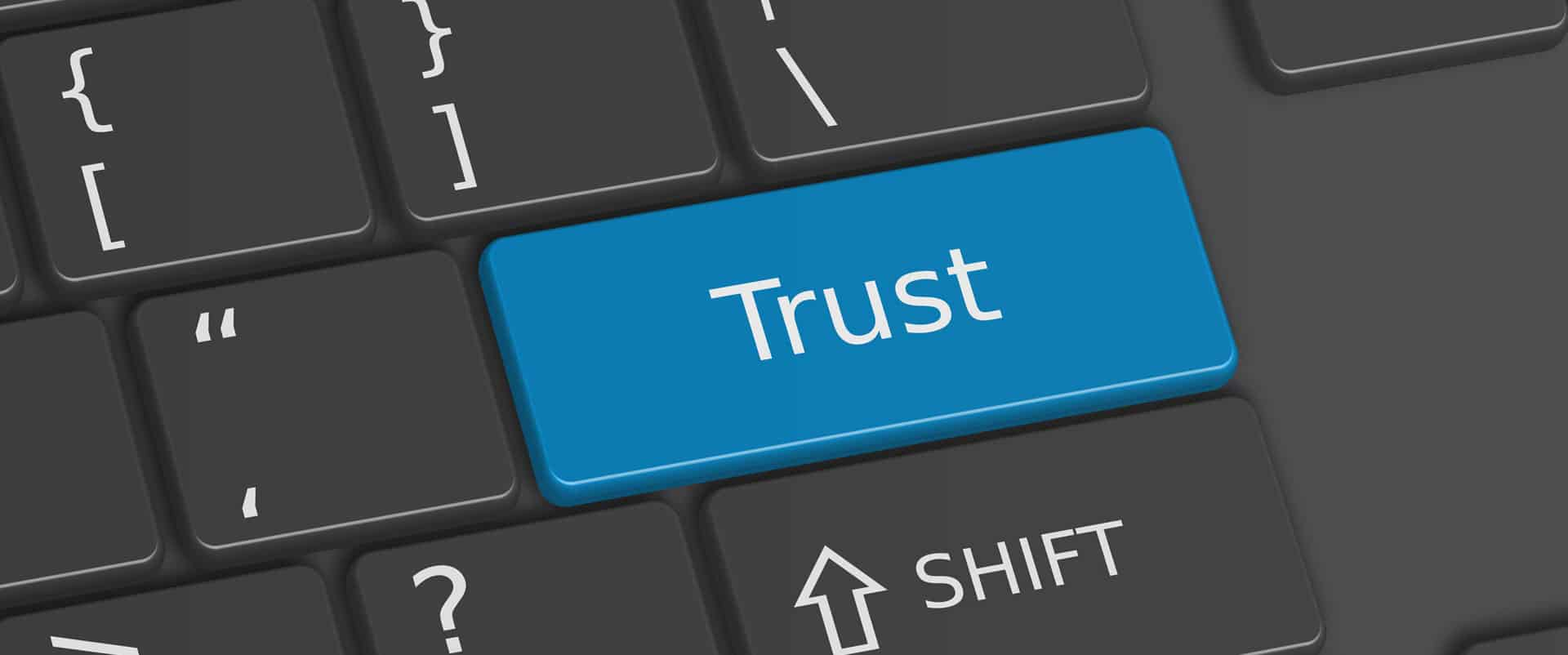 build trust through your website