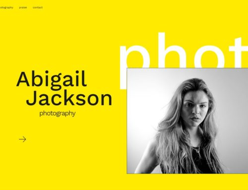 Launching Abigail Jackson Photography's New Website