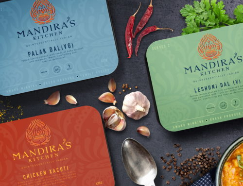 Mandira's Kitchen Rebrand and Website Reveal