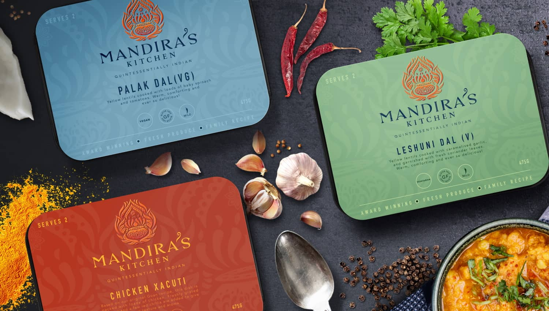Mandira's Kitchen Rebrand and Website Reveal