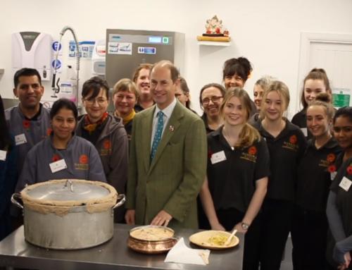 Mandira's Kitchen Royal Visit