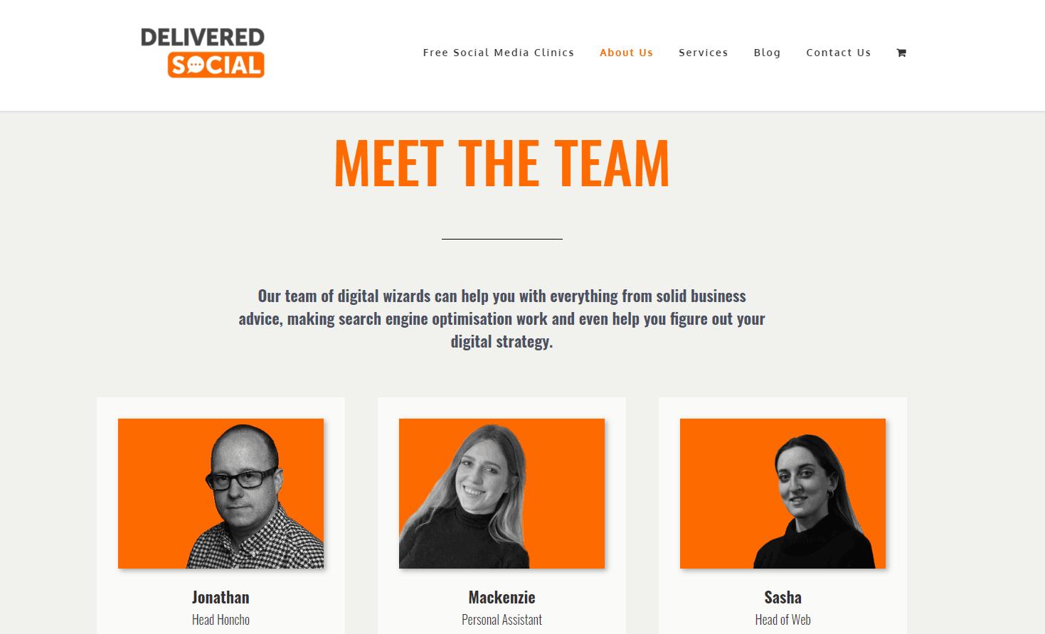 social media marketing agencies: meet the team