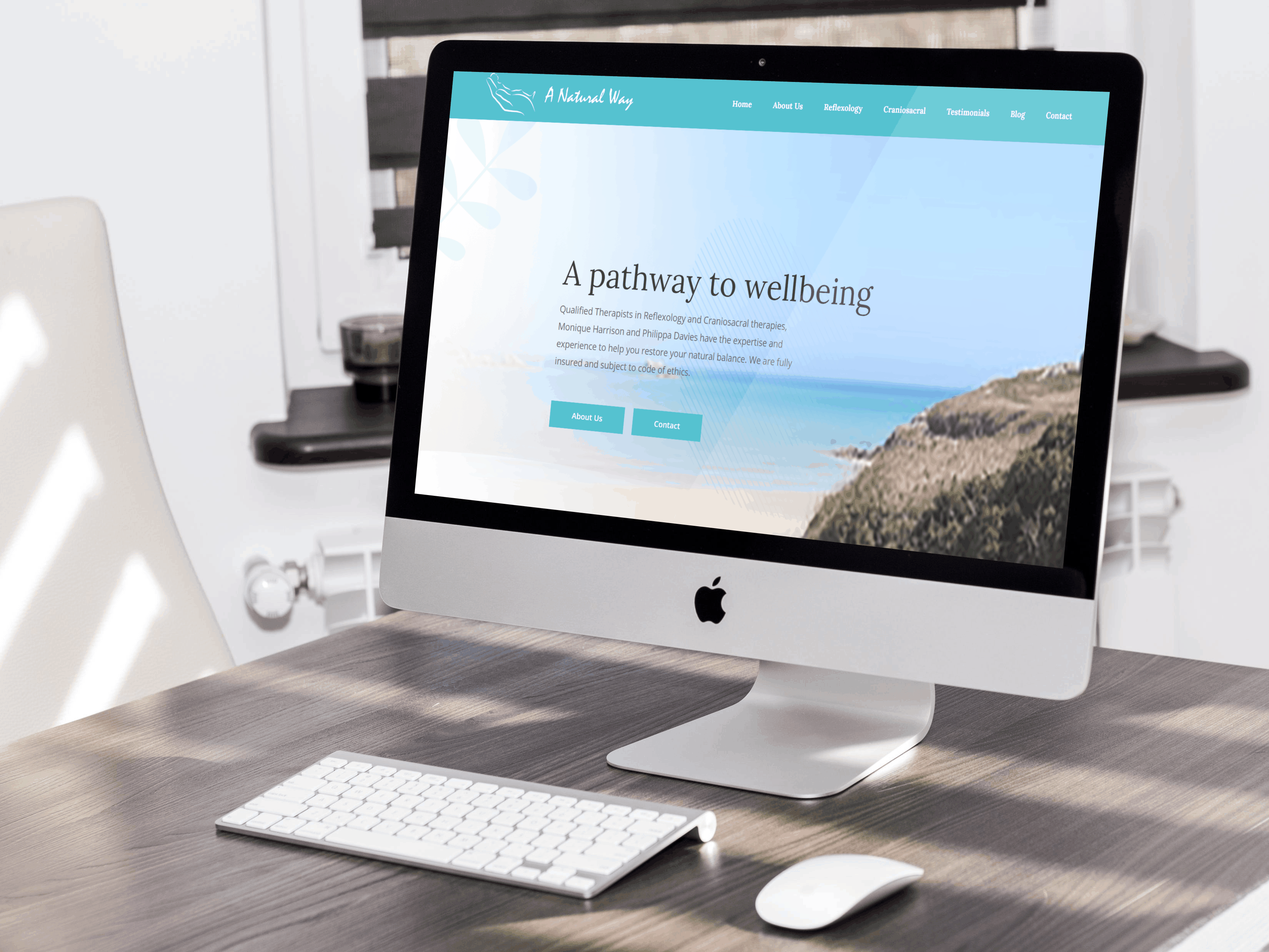 A Natural Way Website design