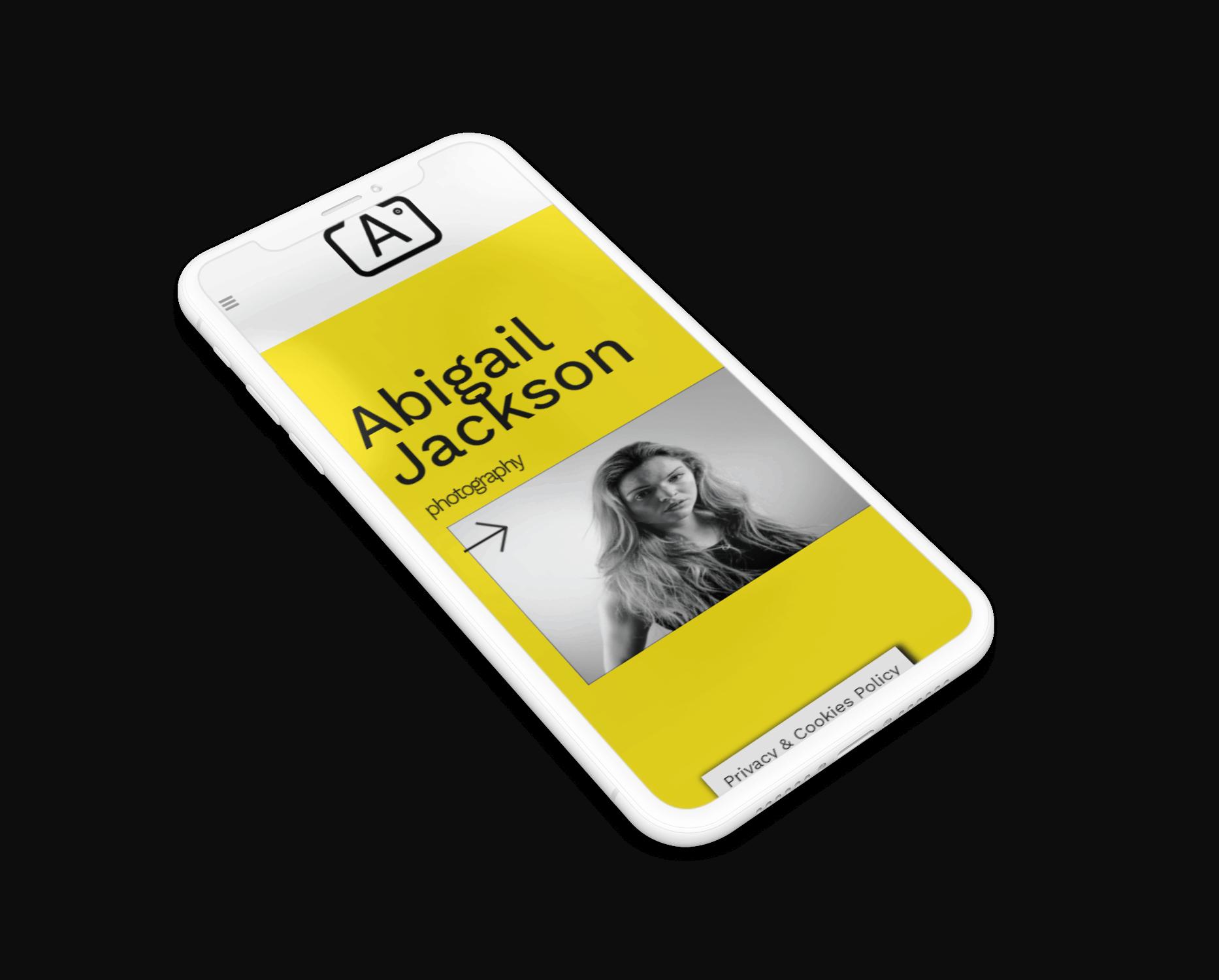 Abigail Jackson website phone version