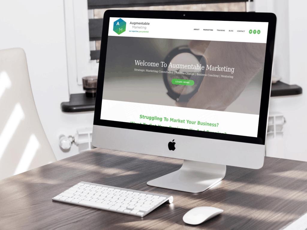 Augmentable Marketing Website