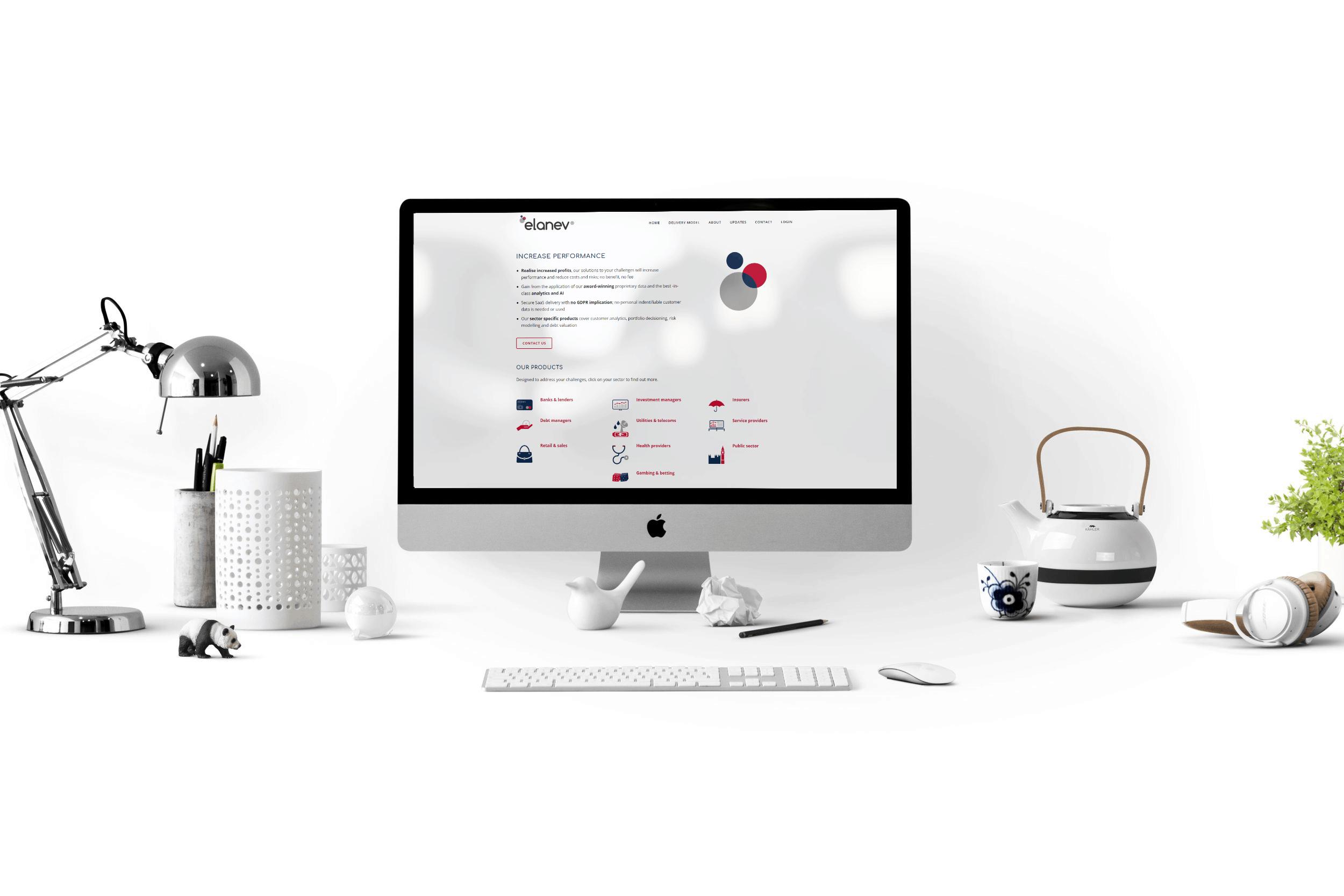 elanev web design
