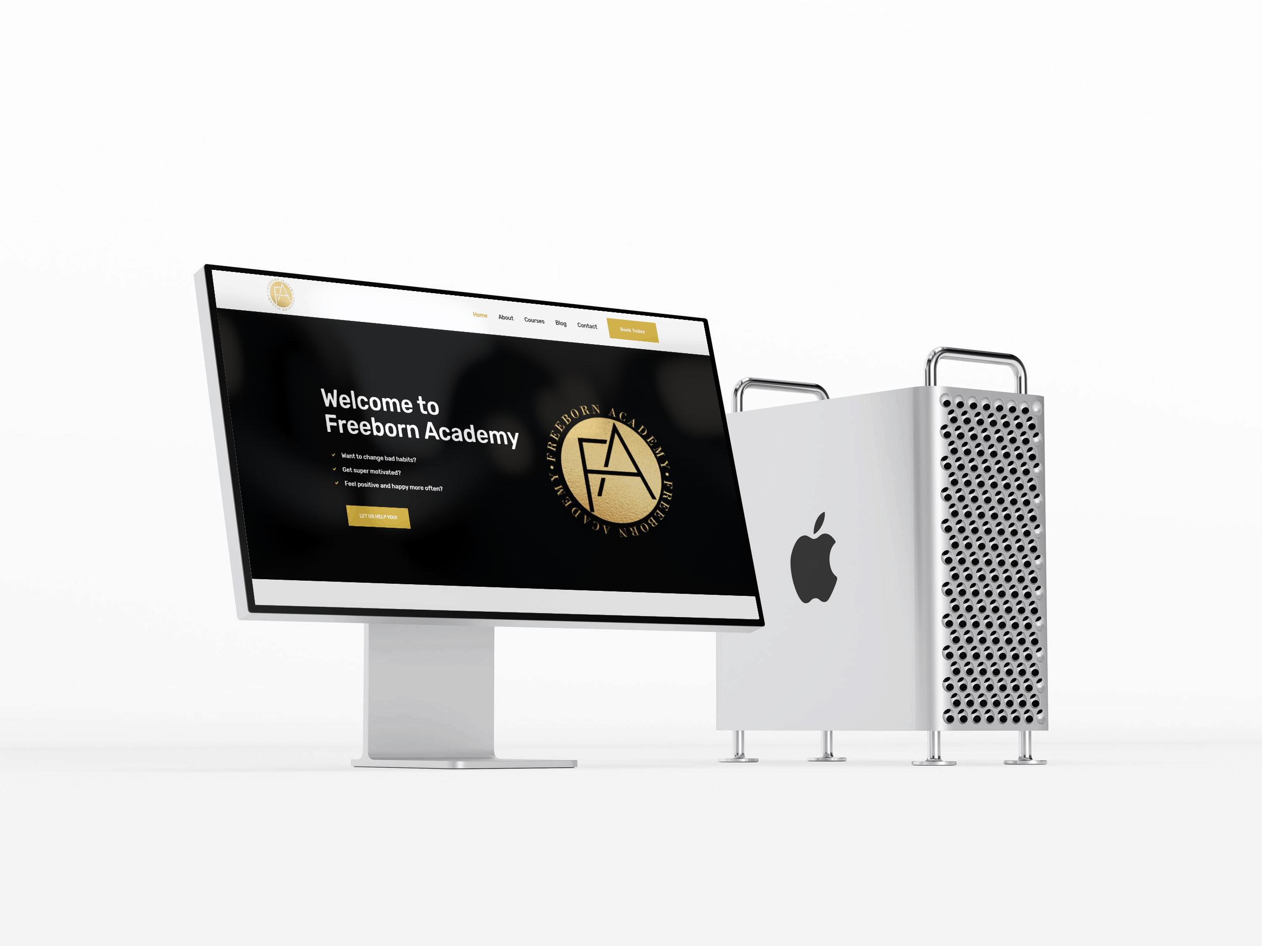 Freeborn Academy Website Design