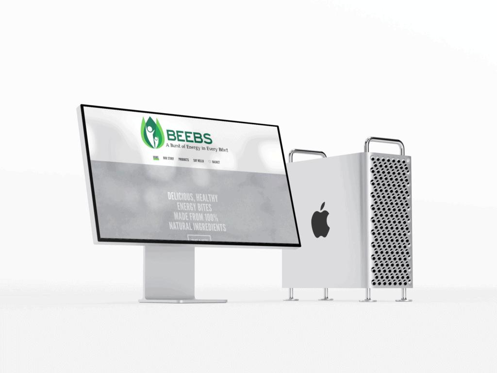 Beebs Website Design