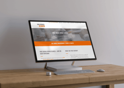 Web design from Delivered Social