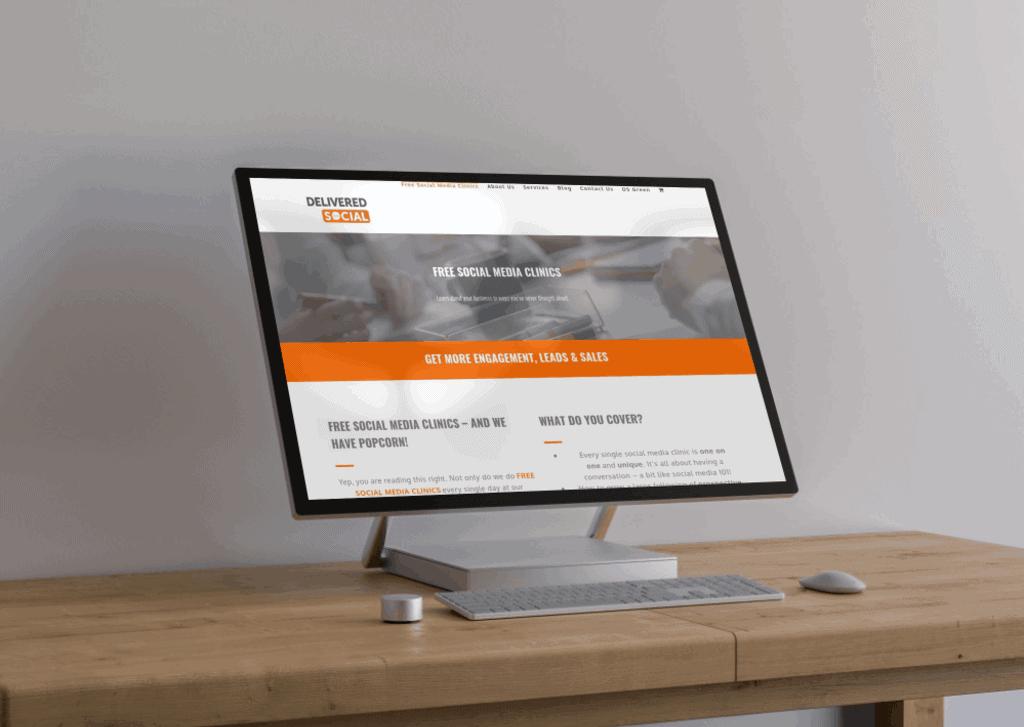 Delivered Social Website Agency