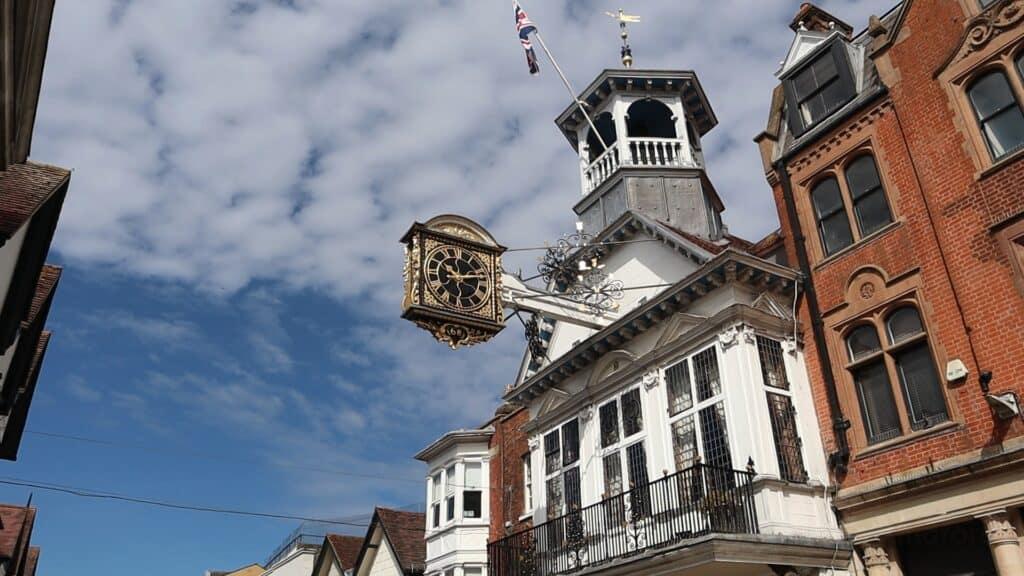 Guildford Shops Re-Open