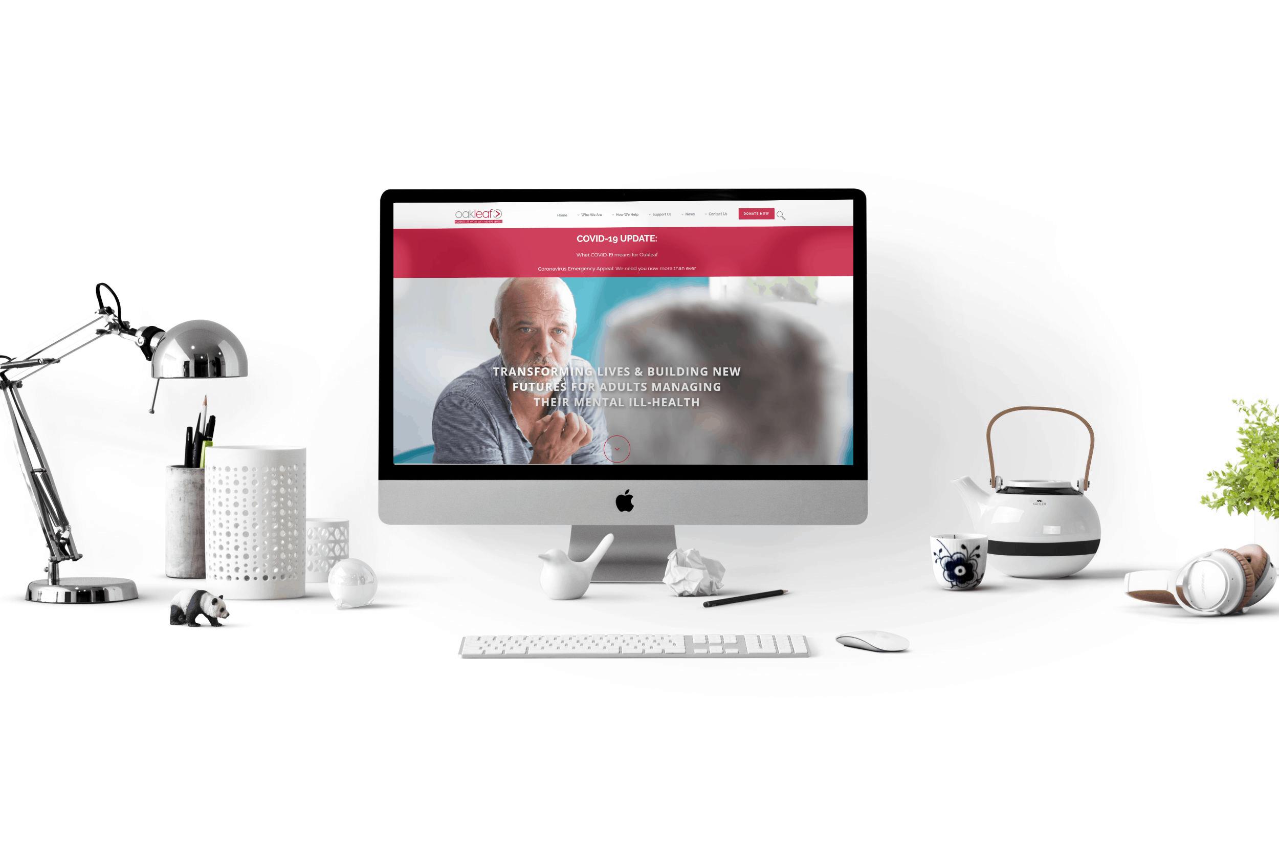Oakleaf Enterprise New Web Design