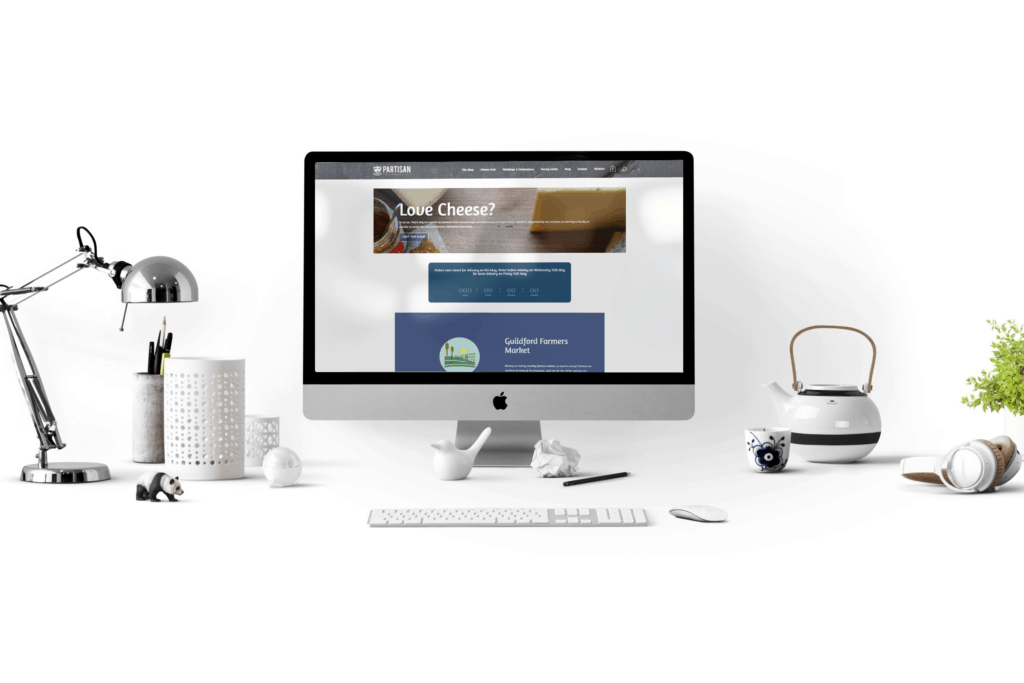 Partisan Deli Website Design