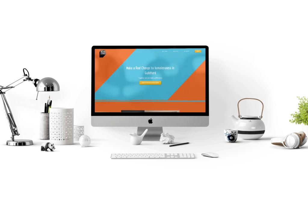 Real Change Guildford website design