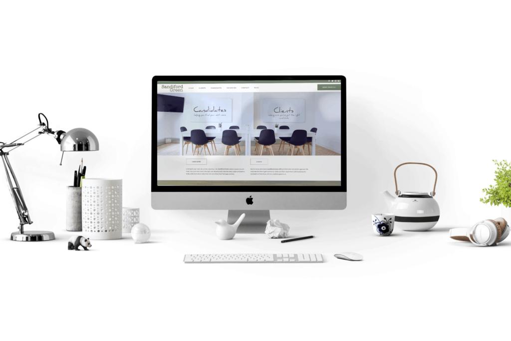 Sandiford Green website design