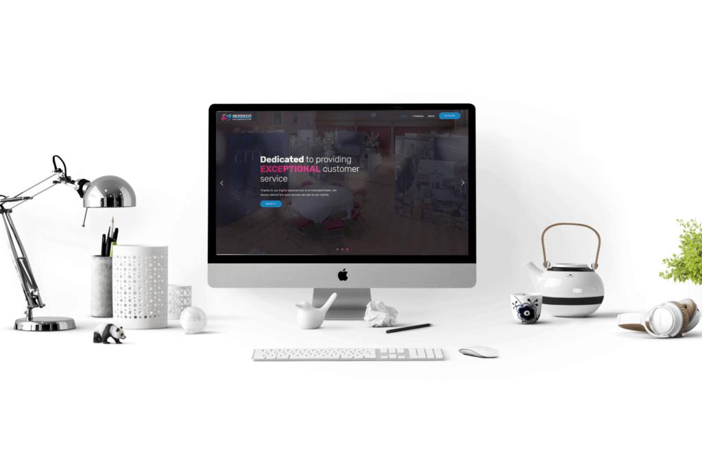 Signseen web design