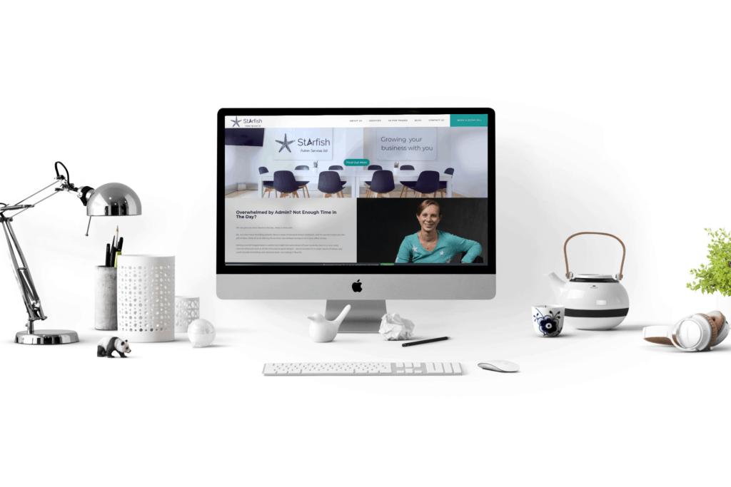 Starfish Admin Services web design