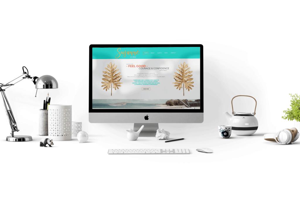 Susanne Kubik new web design