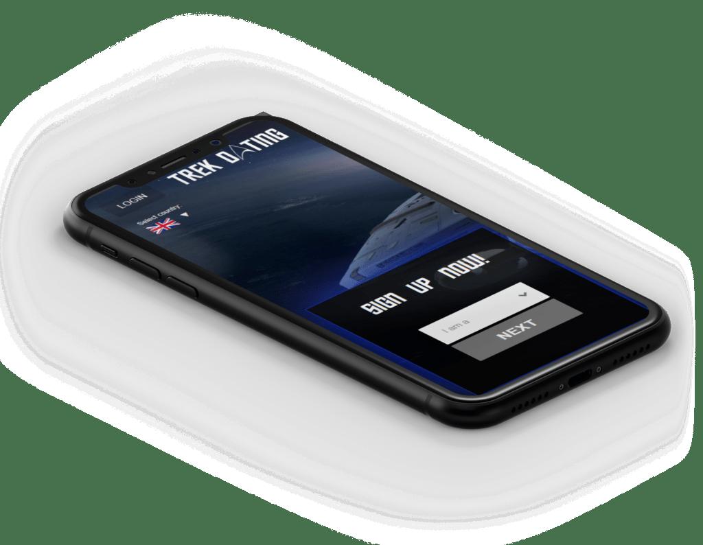 Trek Dating mobile view