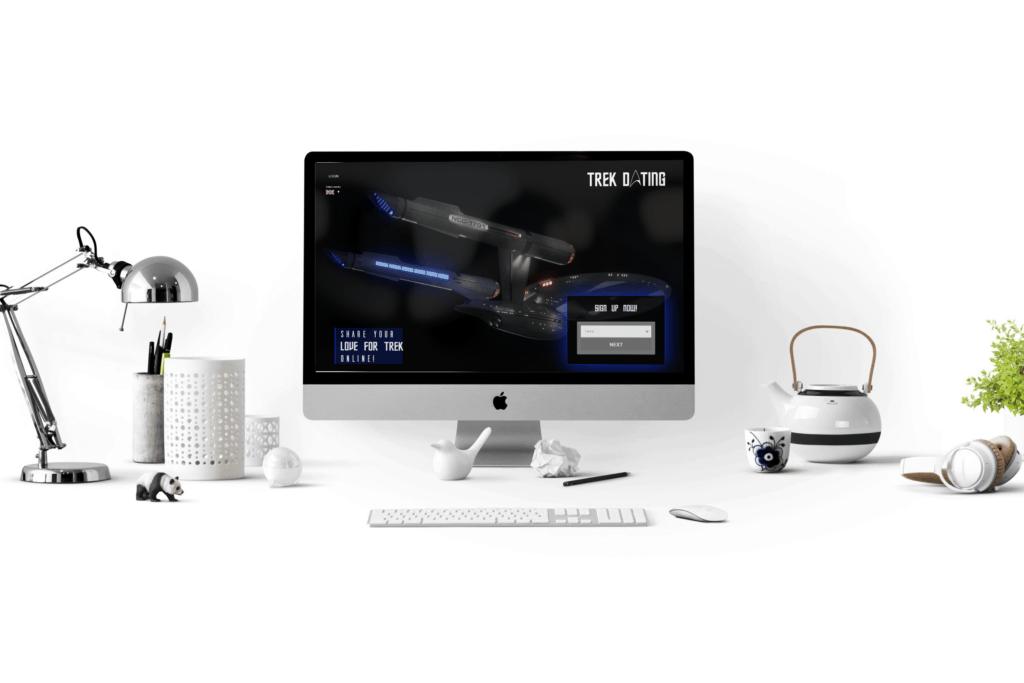 Trek Dating website design