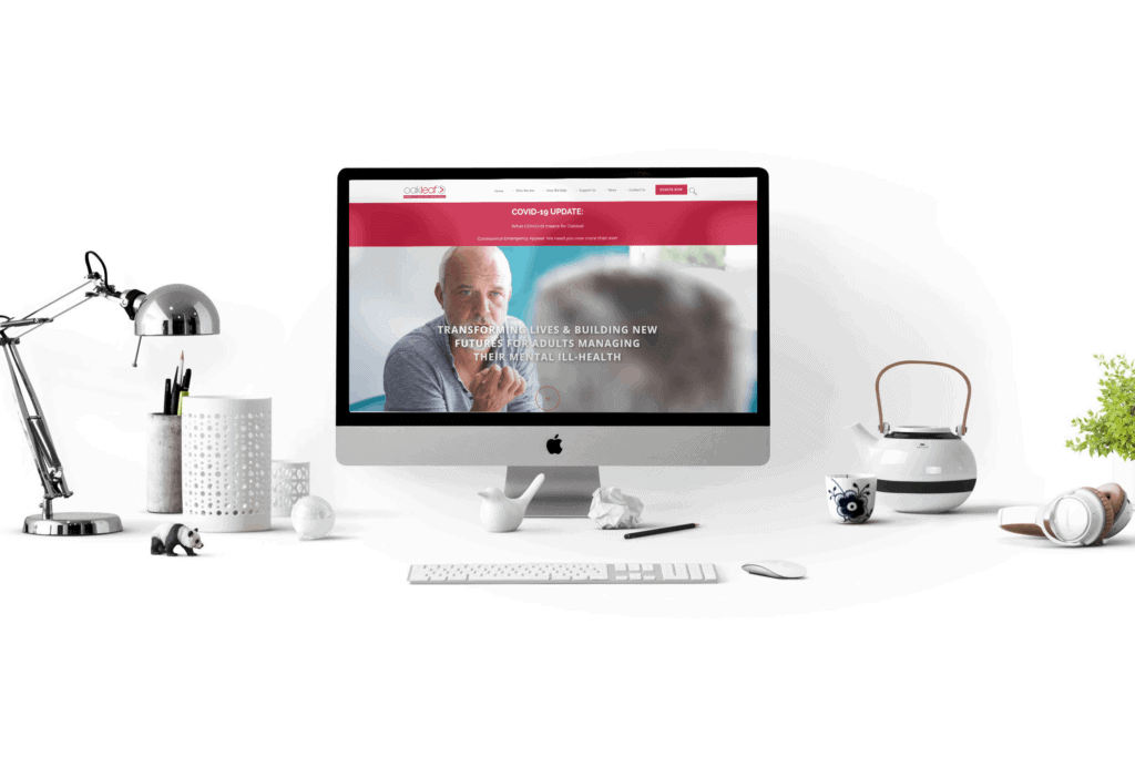 Egham marketing agency: website design