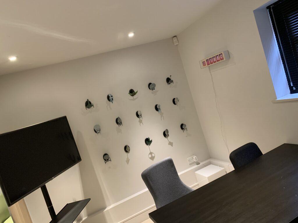 New screening room