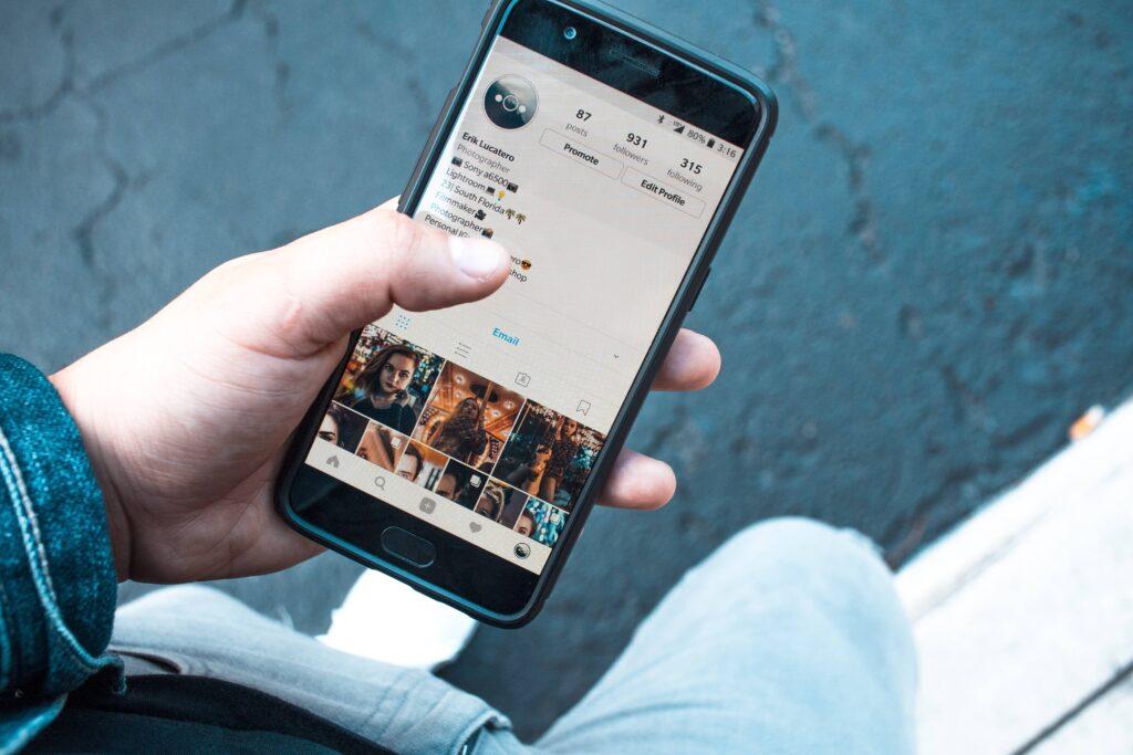 Social media posts in 2021