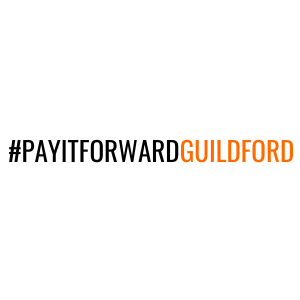 Pay it forward Guildford Logo